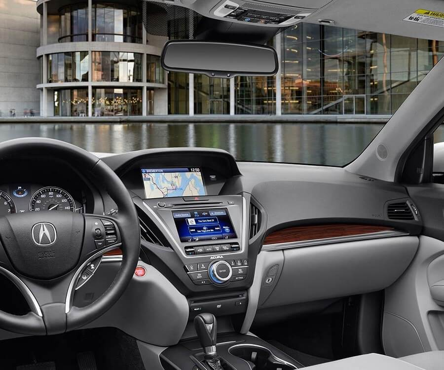 2014 Mdx Interior With Advance And Entertainment Packages